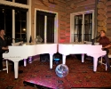 Dueling pianos at private party
